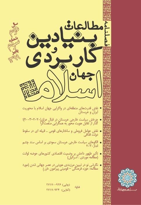 فصلنامۀ مطالعات بنیادین و کاربردی جهان اسلام