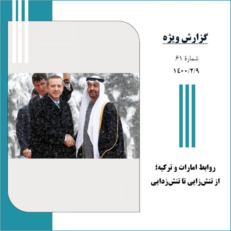 روابط امارات و ترکیه