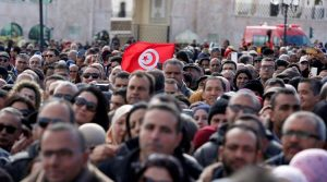اعتراضات تونس