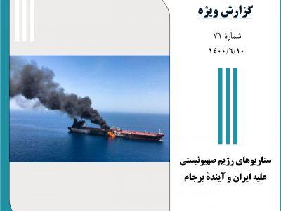 سناریوهای رژیم صهیونیستی علیه ایران و آیندۀ برجام